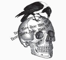 Skull & Raven by Zehda