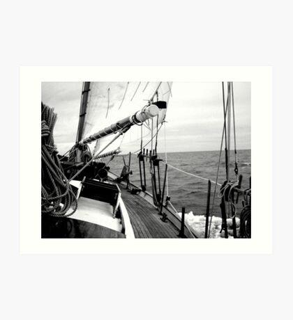 Cracking Along The Wine-dark Sea Art Print