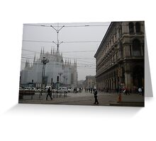 Shrouded Cathedral Greeting Card