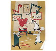 Cats Have Staff Poster