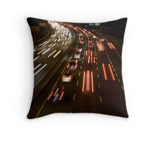 on all cylinders Throw Pillow