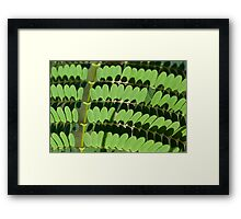green trend Framed Print