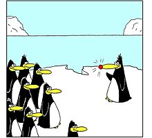 Randolf the Red Nosed Penguin by Stilly