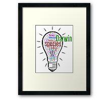 Darwin's Big idea Framed Print