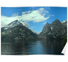 Grand Teton Reflections Poster