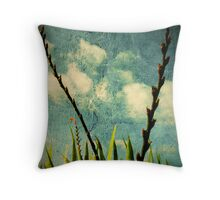 New growth. Throw Pillow