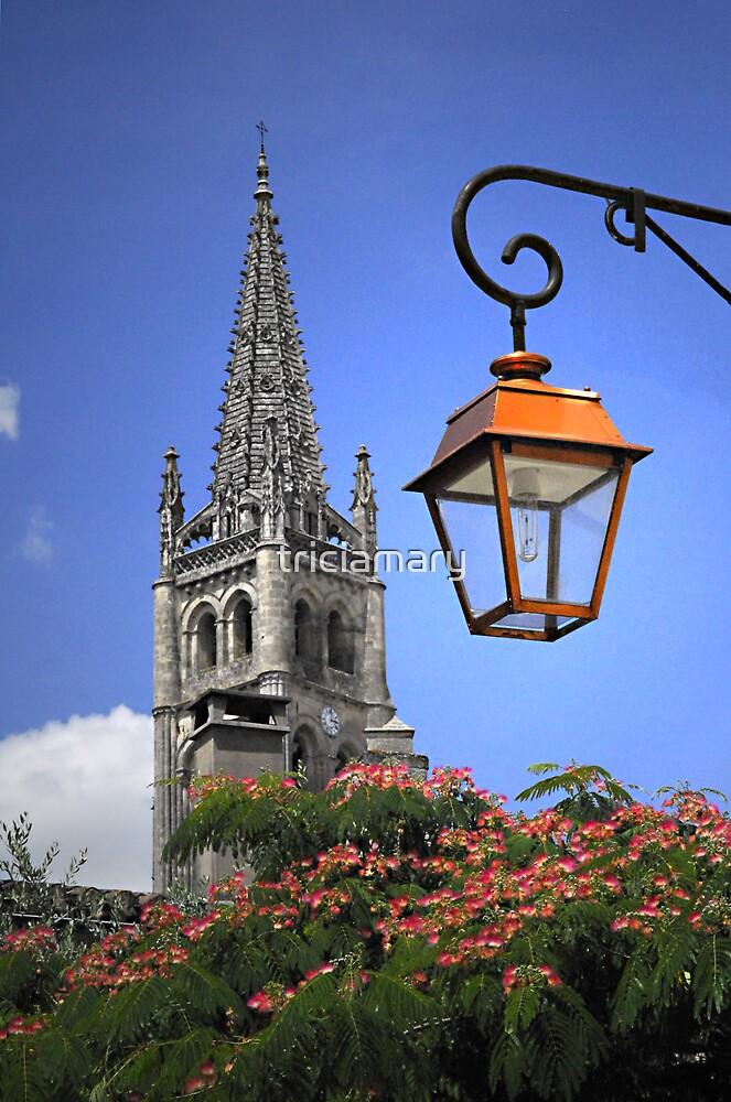 St Émilion church by triciamary