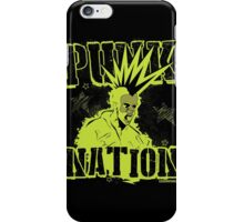 Punk Nation iPhone Case/Skin
