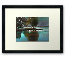 Lake Views - Autumn II Framed Print