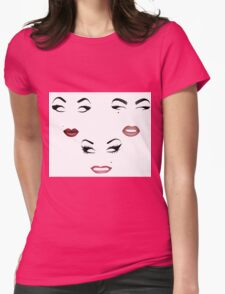 The Top Three - Season 7 - Minimalist Queens Womens Fitted T-Shirt