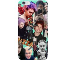 Michael collage iPhone Case/Skin