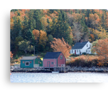 Fisherman's Home, North-West Cove Canvas Print