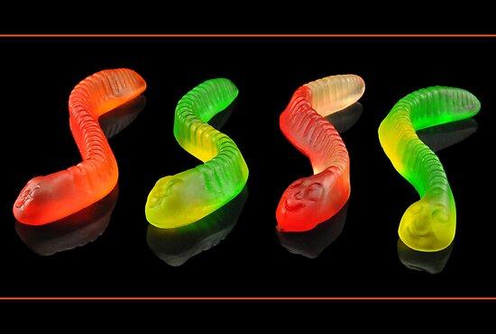 Gummy Worms by carlosporto