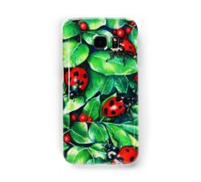Ladybugs in the Hedge Samsung Galaxy Case/Skin