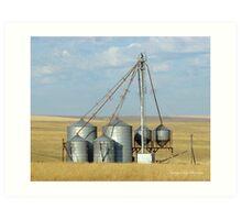 Grain Elevator Art Print