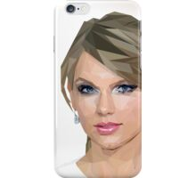 Taylor Swift - LowPoly Portrait iPhone Case/Skin