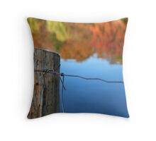 barrier to beauty Throw Pillow