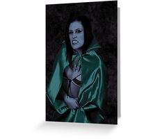The Vampire Queen Greeting Card