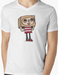 BoxBoy Mens V-Neck T-Shirt