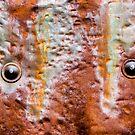 metal eyes rust by blacqbook