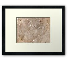 The Hidden Land - Building The Fortress Framed Print