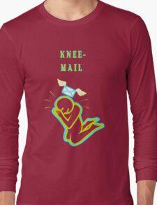 Knee Mail Long Sleeve T-Shirt