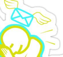Knee Mail Sticker