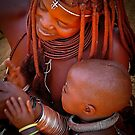 Himba woman and her baby... by Saka