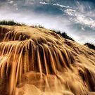 Sand Fall by Mark van den Hoek