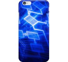 Abstract software algorithm flowchart art photo print iPhone Case/Skin