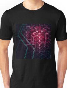 Abstract Algorithm Flowchart Background art photo print Unisex T-Shirt
