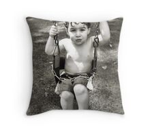 R on a Swing Throw Pillow