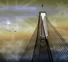 Anzac Bridge by Holly Kempe