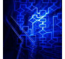 Flowchart algorithm diagram background art photo print Photographic Print