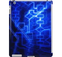 Flowchart algorithm diagram background art photo print iPad Case/Skin
