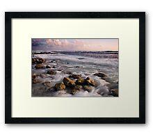 Sunset at the Shack - Cocos (Keeling) Islands Framed Print