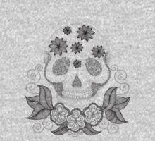 Dot Dot Skull by Danielle Reck