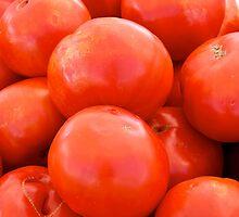 Tomatoes by Jeffrey  Sinnock