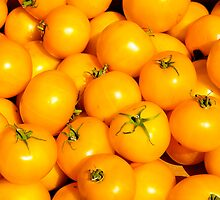 Yellow Tomatoes by Jeffrey  Sinnock