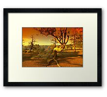 The Grand Ending Framed Print