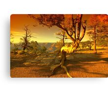The Grand Ending Canvas Print