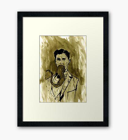 Great Uncle Mortimer Framed Print