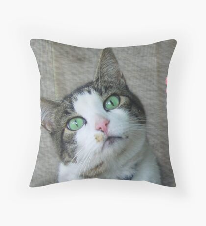 Precious Expression Throw Pillow