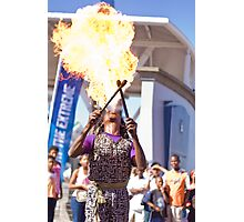 Fire Breather Photographic Print