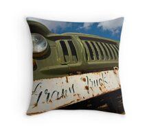 Grans Truck Throw Pillow