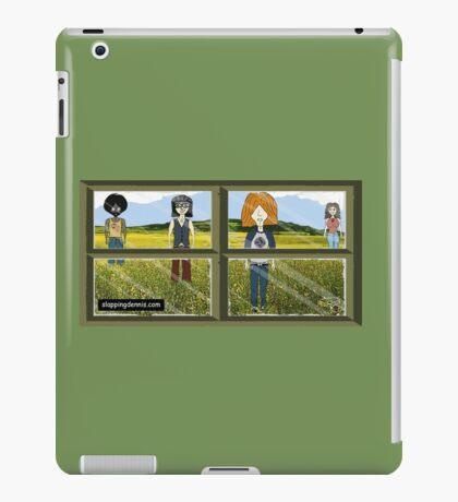 Slapping Dennis (Window) iPad Case/Skin
