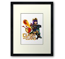 Clash of Clans Framed Print