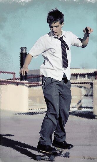 Skater Boy by Michael Stocks