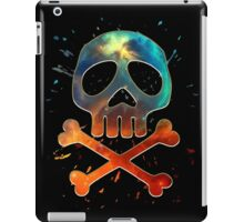 Space Pirate, Skull, Crossbones, Captain, Bone, Anime, Comic iPad Case/Skin