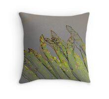 Asparagus Stalks Throw Pillow